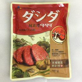 牛肉ダシダ 500g袋 画像