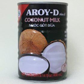 AROY-D ココナッツミルク缶 画像