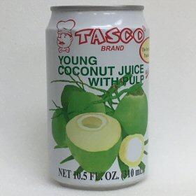 TASCO ココナッツジュース 画像