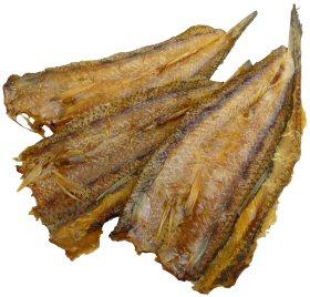 雷魚の燻製 画像