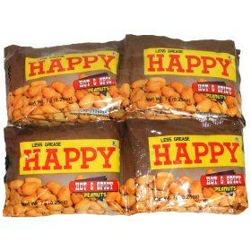 HAPPY ピーナッツ・ホット&スパイシー 画像