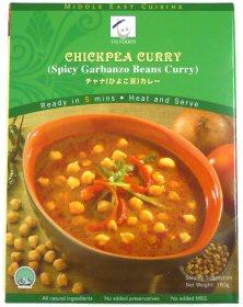 ひよこ豆カレー 画像